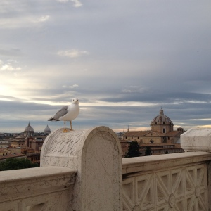 View from Vittorio Emanuele II Monument