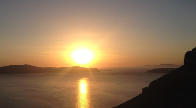 Santorini: You've seen one sunset, you've seen them all…